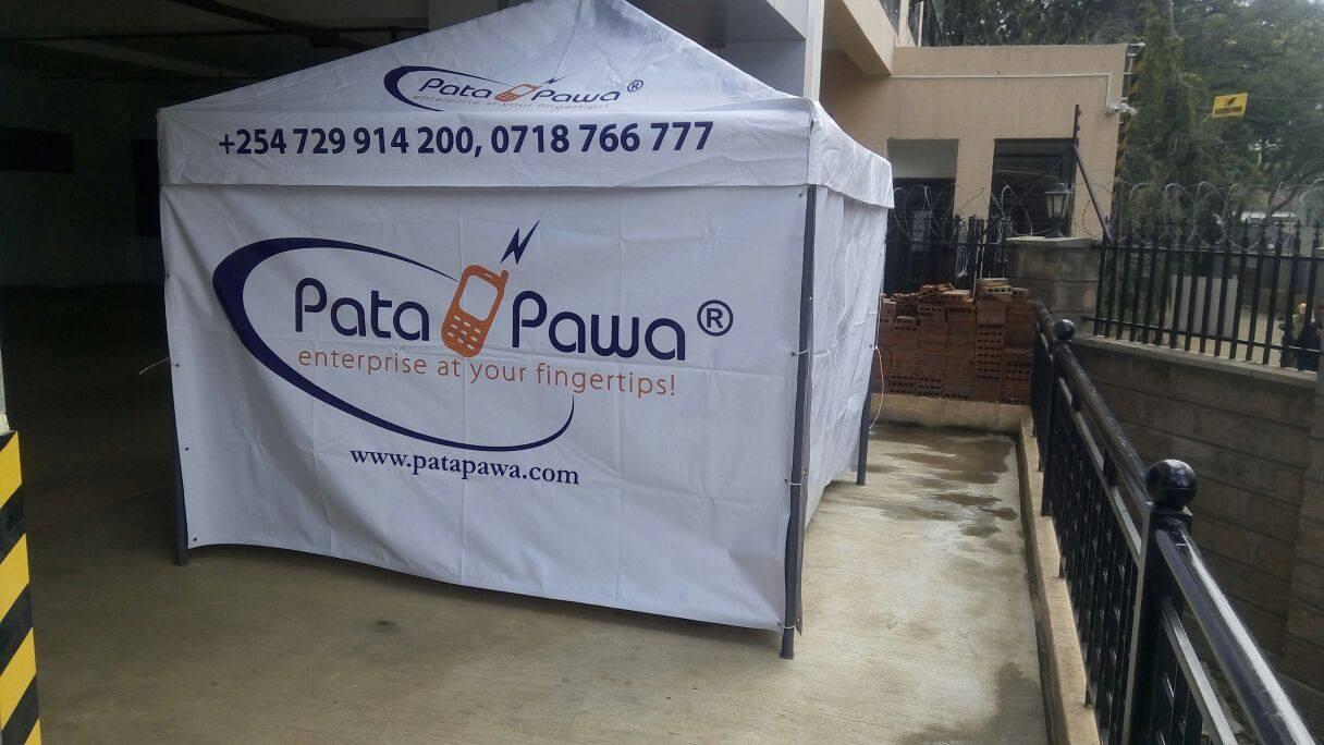 Patapawa Sales Tent